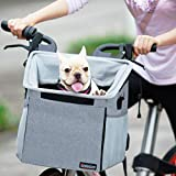 Pet Carrier Bicycle Basket Bag Pet Carrier/Booster...