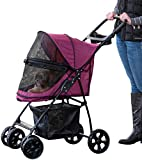 Pet Gear Happy Trails Pet Stroller for Cats/Dogs,...
