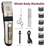 IWEEL Dog Clippers, 2-Speed Professional...