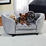 Enchanted Home Pet Quicksilver Pet Sofa Bed, 34 by...