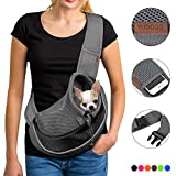 YUDODO Reflective Pet Dog Sling Carrier Breathable...