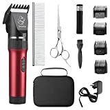 Sminiker Low Noise Cat and Dog Clippers...