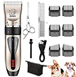 Yabife Dog Clippers, USB Rechargeable Cordless Dog...