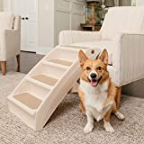 PetSafe Solvit PupSTEP Plus Pet Stairs, Foldable...
