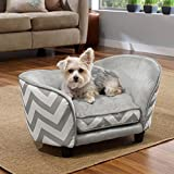 Enchanted Home Pet Snuggle Pet Sofa Bed, 26.5 by...