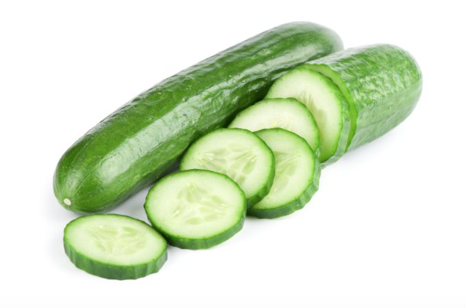 Slices of Cucumber For Dogs